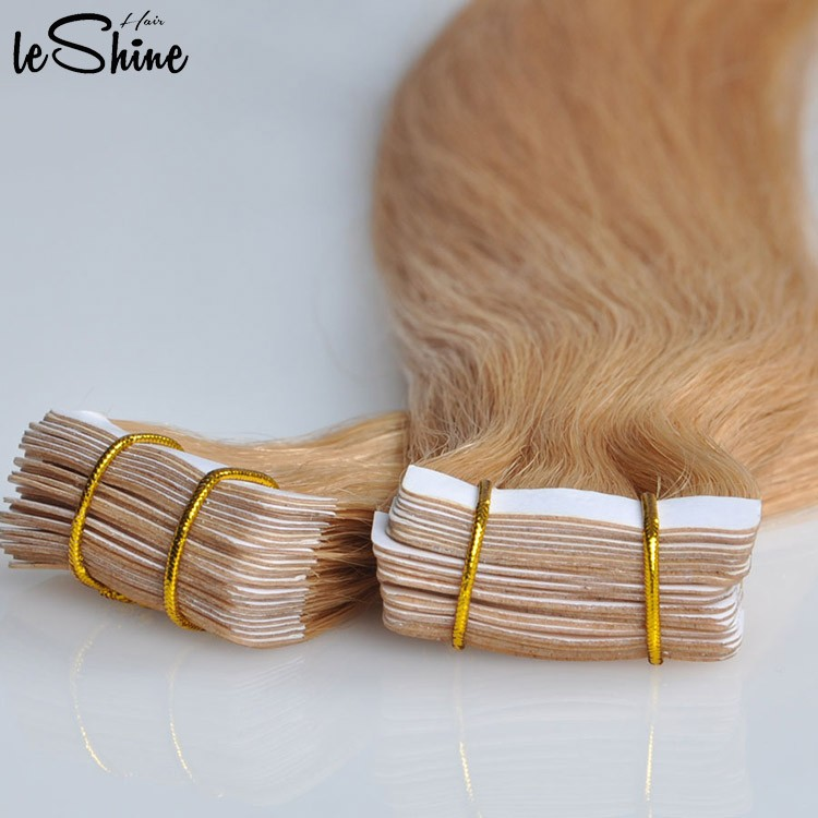 Leshinehair Selling Well All Over The World Double Sided Tape Hair