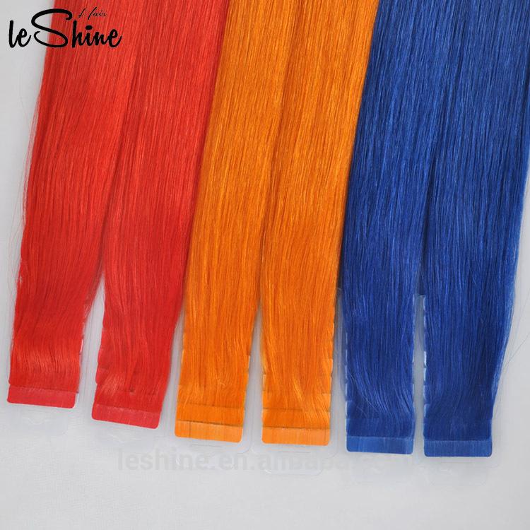 Leshinehair Double Drawn Tape Hair Extensions On Sale Qingdao Hair