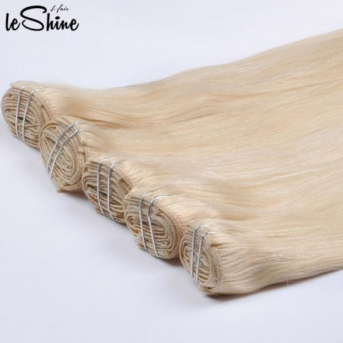 Leshinehair Clip in Extension China Best Clip in Hair Factory Manufacturer Supplier Wholesale