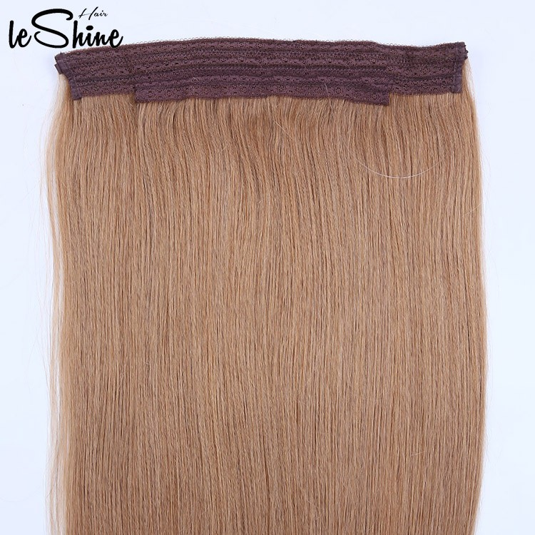 Leshinehair Wholesale Smooth Grade 8a Full Cuticle Indian Remy Wavy