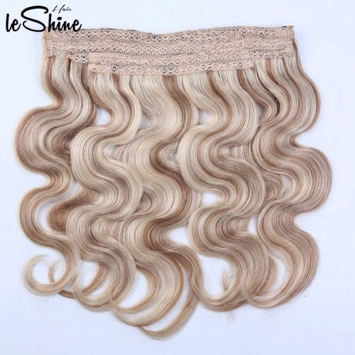 Leshinehair Flip Halo in Extension China Best Flip in Hair Factory Manufacturer Supplier Wholesale