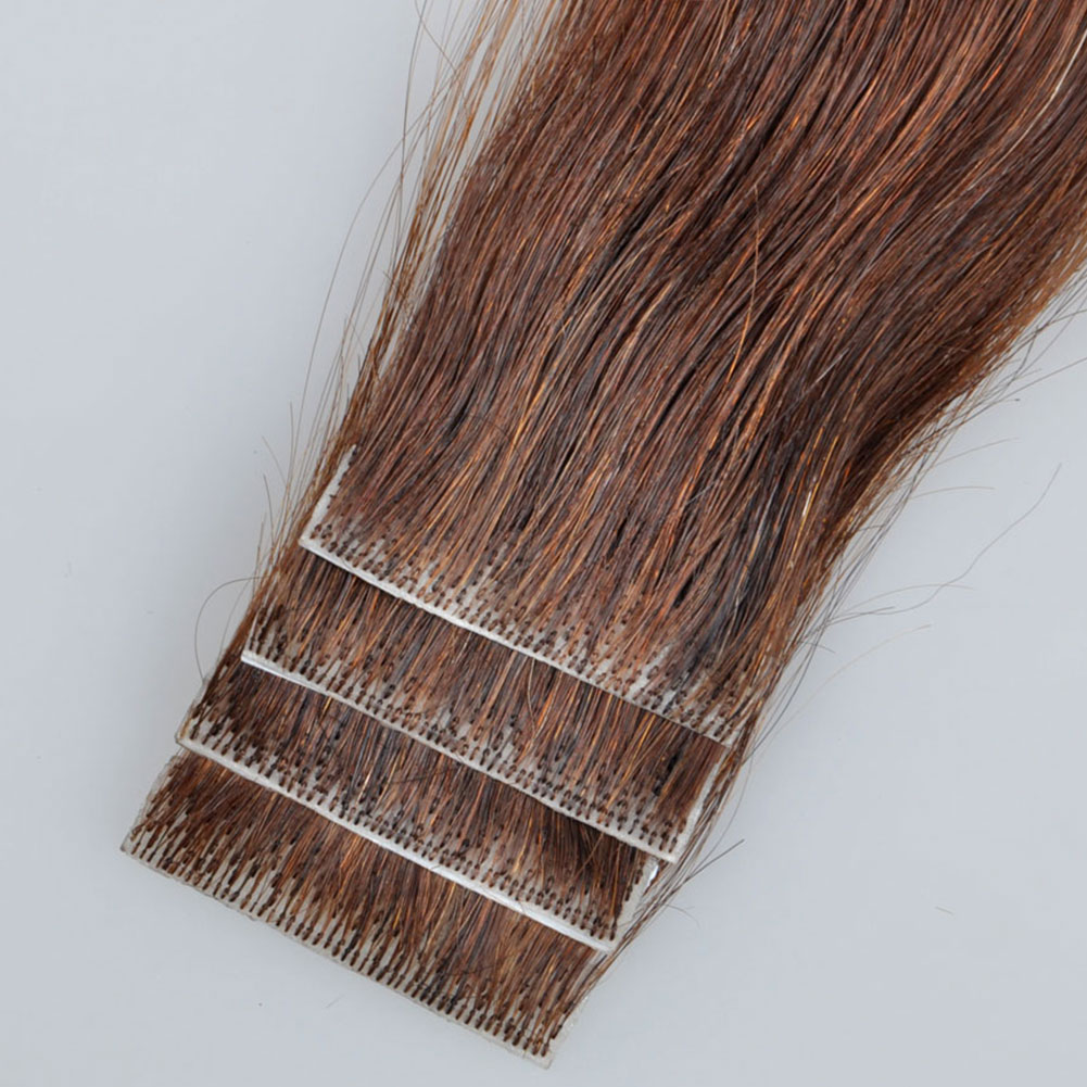 Remy Hand-tied Tape Hair PU wefts No Short Hair in